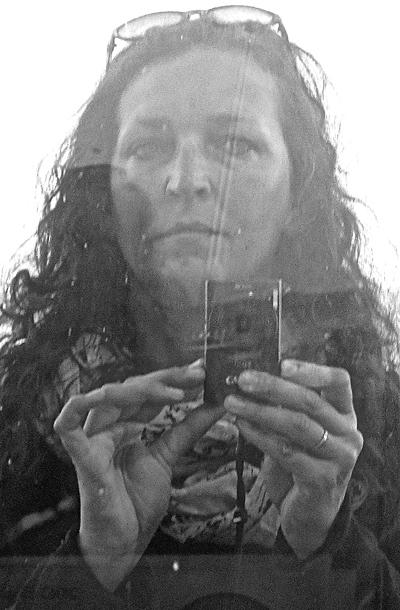 Selbstporträt Jutta Grell
