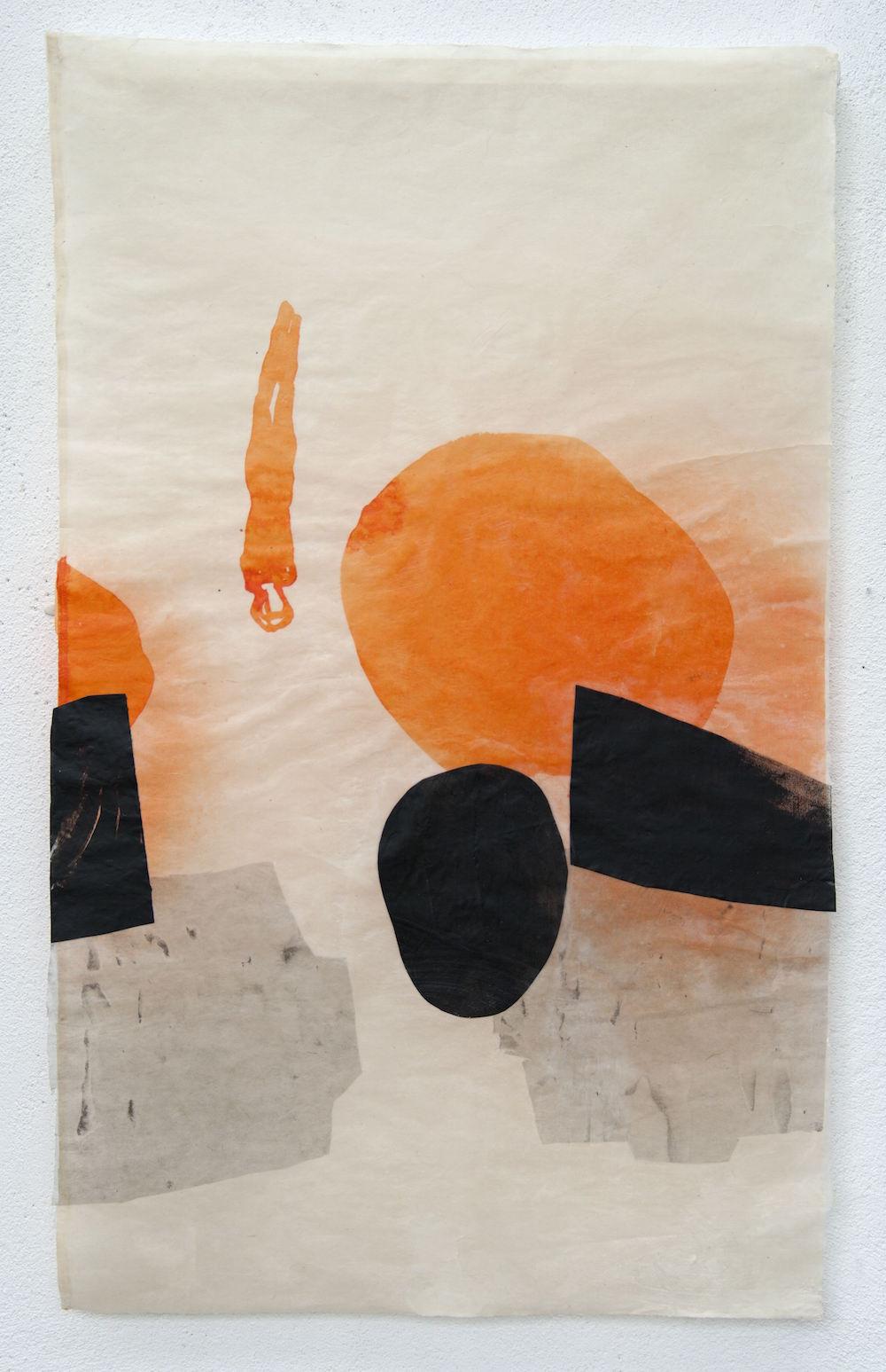 apnoe II, 2014, 97 x 63 cm